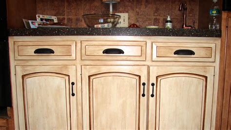 how to distress kitchen cabinets how to distress wood cabinets