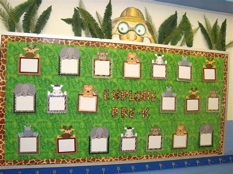 jungle safari themed classrooms clutter free classroom - Safari Themed Classroom Decorations