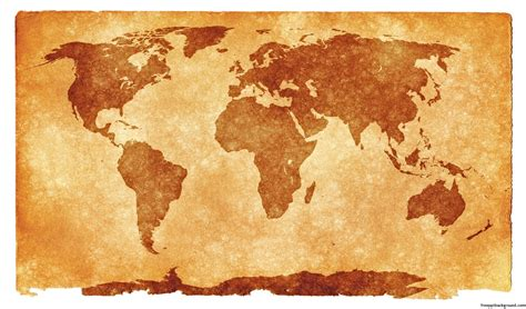 Grunge Textured World Map For Ppt Presentations Free Ppt World Map Powerpoint Background