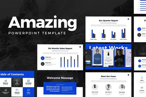Amazing Powerpoint Template 1890650 Cgaeo影视后期 Amazing Powerpoint Template