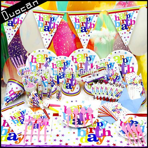 l supplies wholesale disposable theme birthday supplies wholesale
