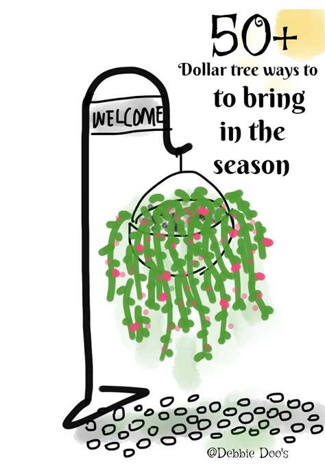 Dollar Tree Home Decor Ideas dollar tree spring summer debbiedoos