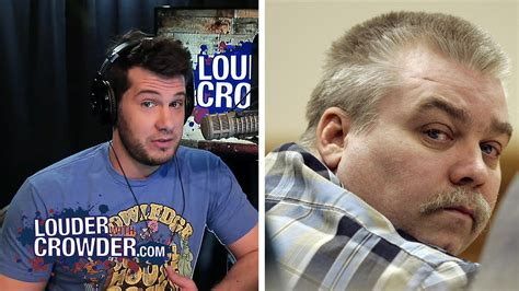 steven avery interview steven avery exclusive interview louder with crowder