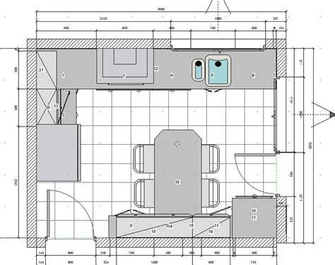 cocinas planos planos de cocinas
