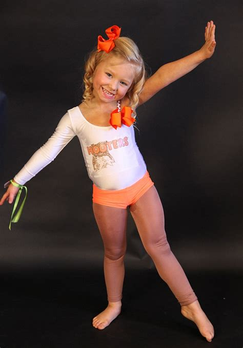 little girls dressed inappropriately mother dresses up 4 year old daughter in hooters outfit