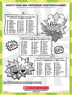 printable captain underpants bookmarks your name in captain underpants world children s