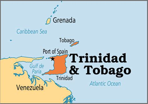 and tobago on the world map world map and tobago 28 images and tobago world map