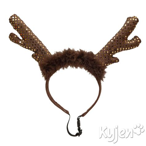 kyjen led light up reindeer antlers by animal kingdom ltd