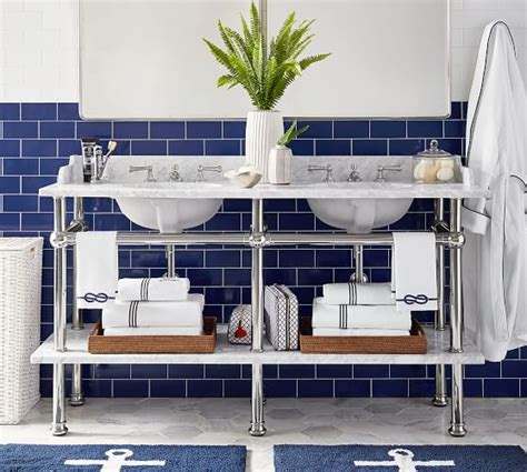 pottery barn sink console apothecary sink console pottery barn