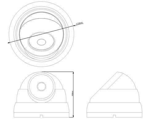 Cctv Avtech 2 Mp Hd 1080p Dg 205xp avtech hd cctv hd tvi 2mp 1080p ir varifocal dome