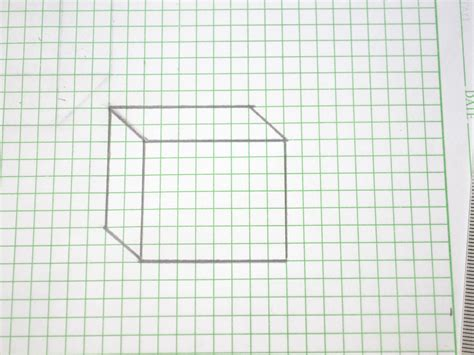 How To Make Blueprint Paper - how to draw a 3d box 14 steps with pictures wikihow