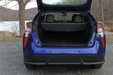 Toyota Prius Cargo Space Toyota Has Infused Some Sportiness Into Its Prius Hybrid