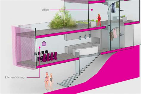 Architect Barbie S Winning Dream House Design Unveiled And It Has A Green Roof