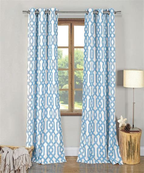 Duck River Textile Curtains Duck River Textile Sky Blue Ashmont Curtain Panel Set Of Two Sky Curtains And Rivers