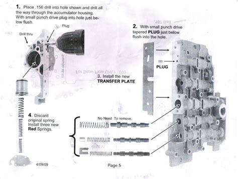 48re valve diagram 4l80e automatic transmission parts diagram get free