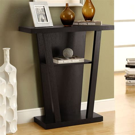 monarch accent table cappuccino monarch specialties 2540 32 inch hall console accent table