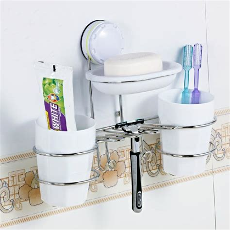 Wall Suction Toothbrush Holder wall suction cup toothbrush holders soap box toothbrush