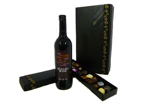 mulled wine chocolate christmas gift box aphrodite