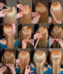 hair braiding styles step by step amazing long hair hairstyle cool technique