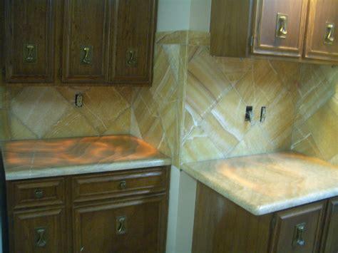 Backsplash Tiles For Kitchens Onyx Kitchen Backsplash