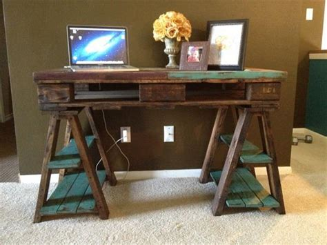 computer desk diy upcycled pallet desk ideas pallets designs