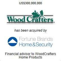 seale advises on sale of woodcrafters to fortune brands