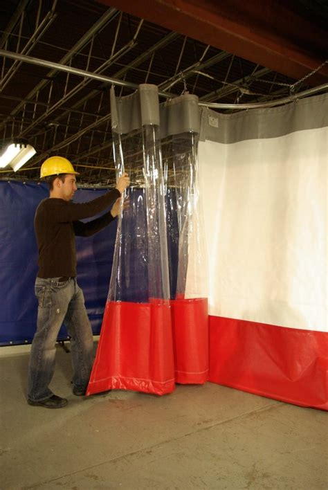 large industrial curtains vinyl pvc wall dividers