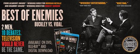 gore vidal doc quot best of enemies quot gore vidal bill buckley doc launches