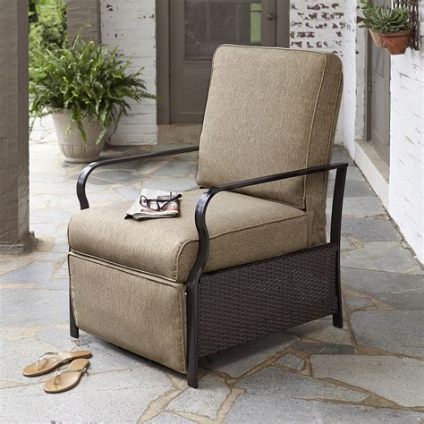 patio chair recliner chic and cozy outdoor recliner chair the homy design