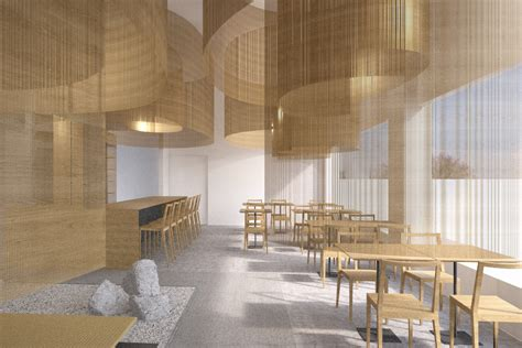 Modern Japanese Architecture new chef naoko restaurant designed by architect kengo kuma