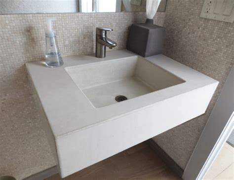 Ada Bathroom Sinks by Concrete Ada Compliant Bathroom Sink Contemporary