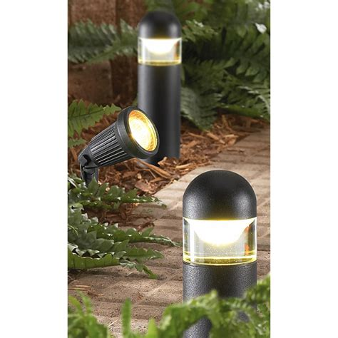 landscape light kit malibu 174 8 pc landscape light kit 176929 solar