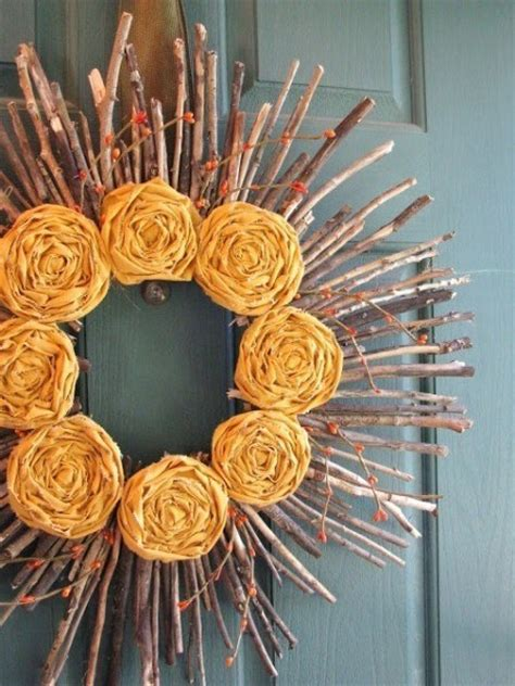 rustic twig stick crafts perfect  fall