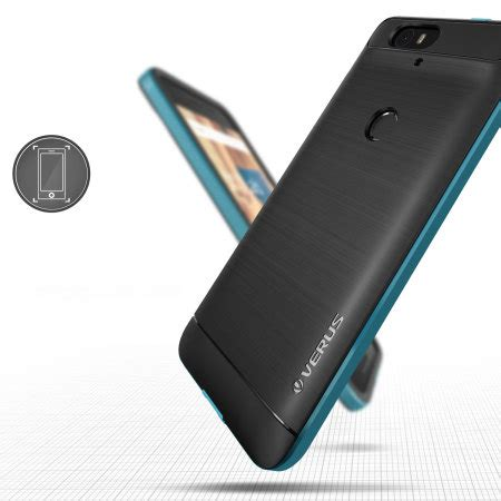 Verus High Pro Shield Huawei Nexus 6p Blue verus high pro shield series nexus 6p electric blue mobilezap australia