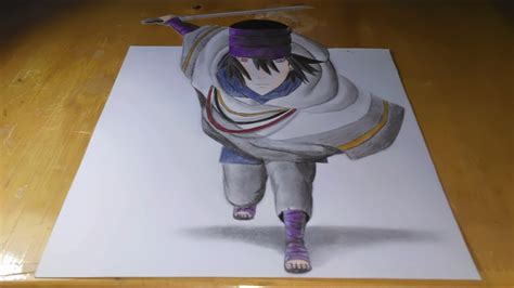tutorial gambar 3d naruto uchiha sasuke the last naruto gambar 3d youtube