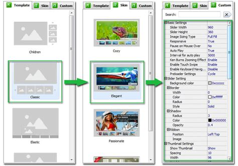 template joomla creator free image gallery slider maker