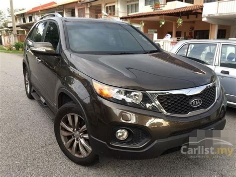 kia sorento 2012 in selangor automatic brown for rm 87 000