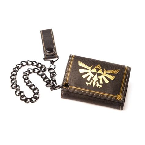 legend of zelda world map wallet zelda twilight princess trifold wallet with chain for