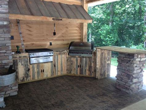 rustic outdoor kitchen ideas rustic outdoor kitchen 30259 litro info