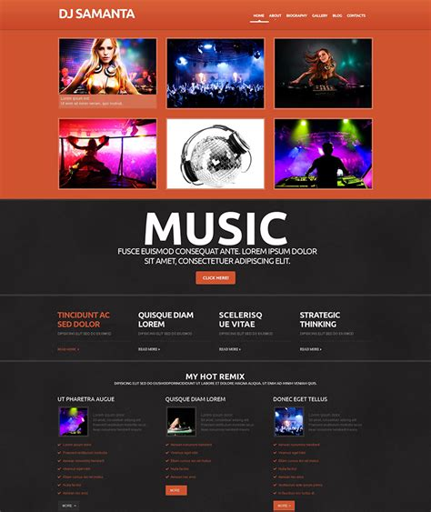 themes wordpress music the best music wordpress themes for 2016 web template