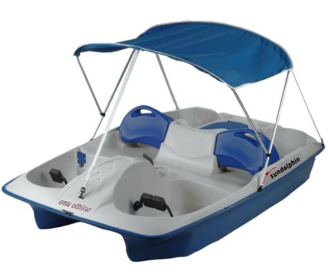 sun slider 5 person pedal boat with canopy sun dolphin sun slider blue 5 person pedal boat with canopy