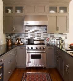 Small Kitchen Ideas For Cabinets Modern Furniture 2014 Easy Tips For Small Kitchen Decorating Ideas