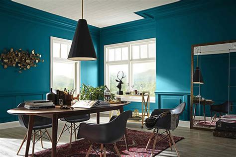 gorgeous dining room colors trending