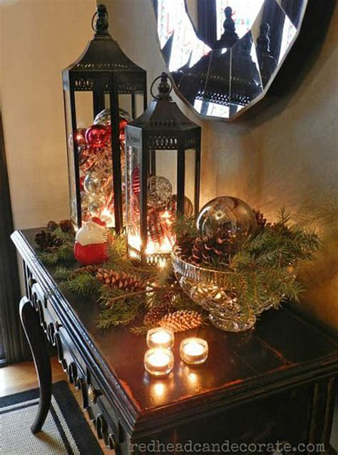 christmas entryway decorating ideas entry ways ideas 50 best magical christmas lanterns and luminaries random