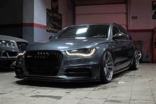 oolong gray metallic audi a6 avant adv5 3 m v2 cs wheels