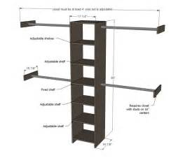 white build a closet organizer from one sheet of