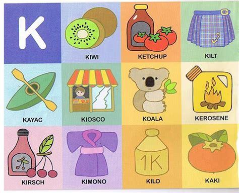 imagenes que empiezan con la letra k palabras con k con im 225 genes y dibujos para imprimir