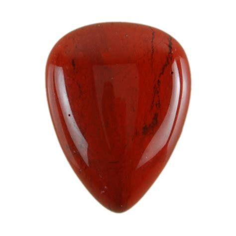 vaquilla jasper gemstone cabochon shield 15x20mm