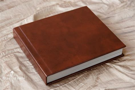 Wedding Albums Leather by Delicious Leather Wedding Album Two Irises