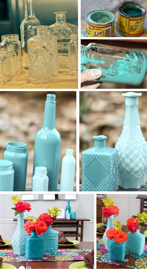 Diy Painting Glass Vases by Weekend Diy Project How To Make Oh So Lovely Painted
